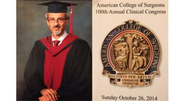 Un chirurgo pisano tra gli iniziati al Fellow dell'American College of Surgeons